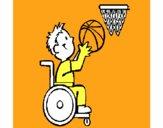 Básquet en silla de ruedas