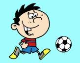 Dibujo Correr con la pelota pintado por maxi_12_