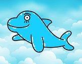 Delfín alegre