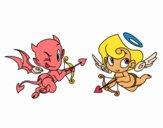 Diablo y cupido