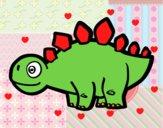 Estegosaurio joven