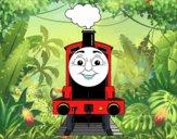 James la locomotora