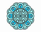 Mandala flor creativa