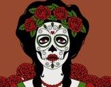 Mujer calavera mejicana