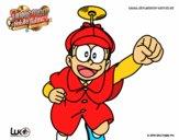 Nobita Holmes volando