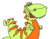 Tiranosaurio feliz