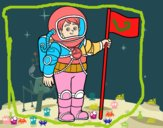 Un astronauta