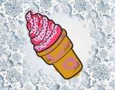 Un helado cremoso