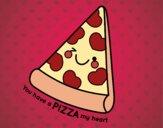 Dibujo You have a pizza my heart pintado por AgusNet