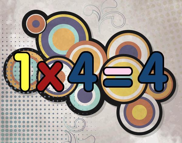 1 x 4