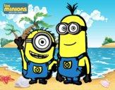 Minions - Carl y Kevin