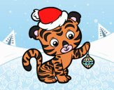 Tigre navideño