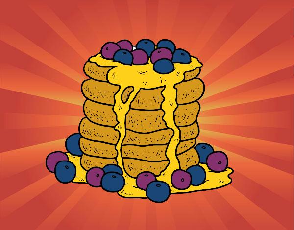 Dibujo Tortitas pintado por andreina08