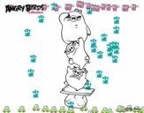 Cerdos verdes de Angry Birds