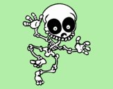 Esqueleto contento 2