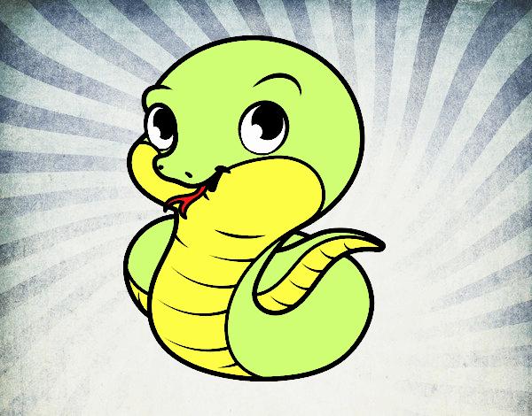 serpiente bonito se llama ti
