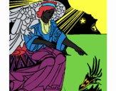 Ángel del pesebre