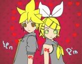 Len y Rin Kagamine Vocaloid