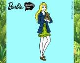 Barbie con un gatito