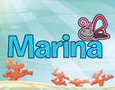 Dibujo Marina pintado por Luciaa99