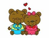 Ositos enamorados