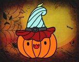 Calabacita de Halloween