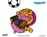 Doraemon futbolista