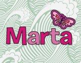 Dibujo Marta pintado por Luciaa99
