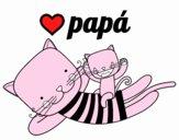 Papá gato