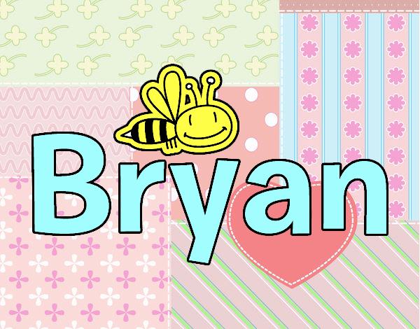 Dibujo Bryan pintado por 12lara