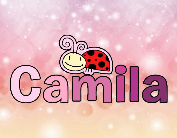 Dibujo Camila pintado por gatitaYT