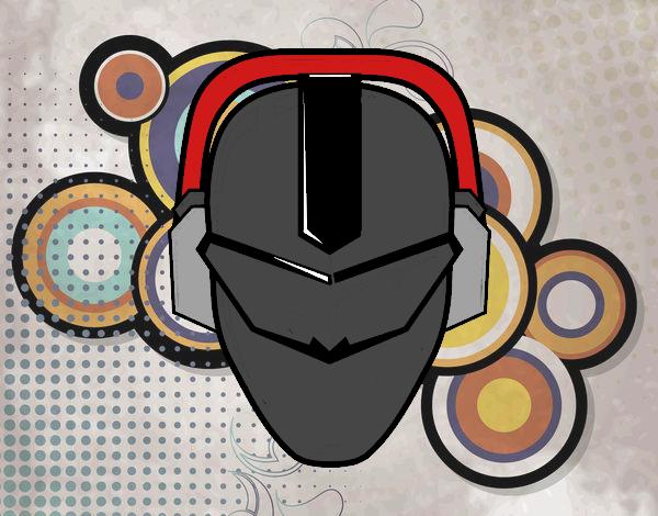 Máscara power ranger