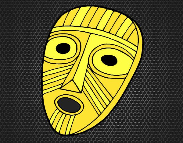 Máscara sorprendida