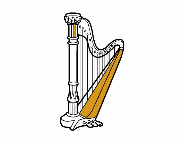 Un arpa
