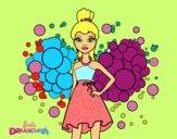 Barbie Princesa Rosa