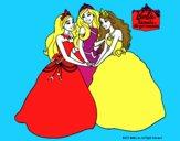 Barbie y sus amigas princesas