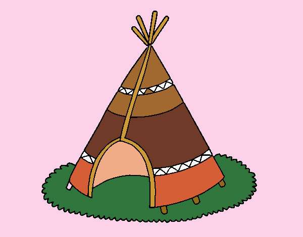 Cabaña de indios