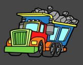 Camión cargado