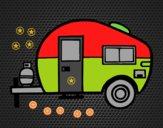 Caravana moderna