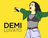Demi Lovato en concierto