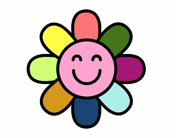 Flor sencilla