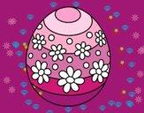 Huevo de Pascua de primavera