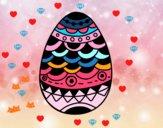 Huevo de Pascua estilo japonés