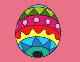 Huevo de Pascua infantil