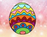 Huevo de Pascua para niños