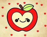 Manzana corazón
