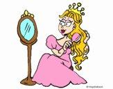 Princesa y espejo