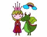 Príncipe y dragón