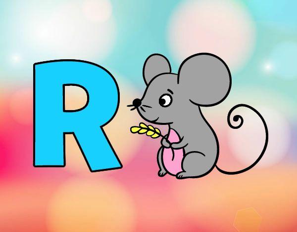 El ratón roba trigo