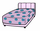 Una cama